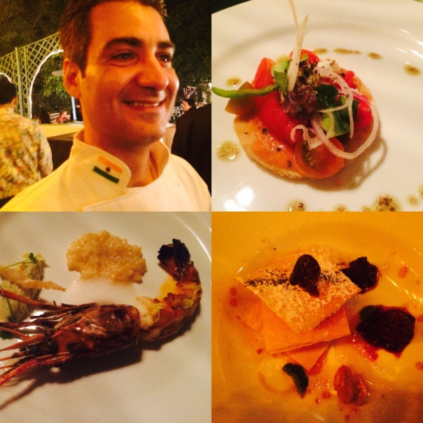 My Greek Kouzina : Dishes created by Chef Paris at Olive Qutub