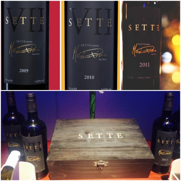 Signature brand of Piero Masi : Sette 2009, 2010 & 2011