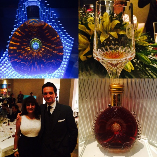 With Christophe Bourrie , Regional Director Louis XIII