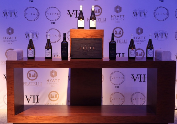 Three new wines launched by Fratelli at The Mansion , Hyatt, New Delhi