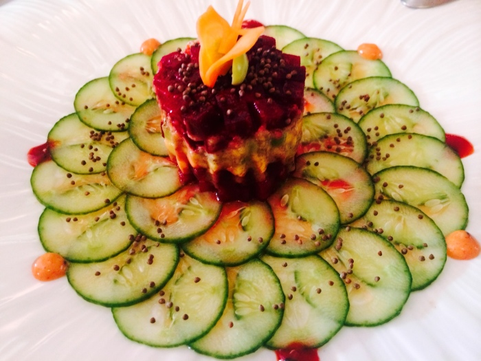 Beetroot & Avocado Tartare