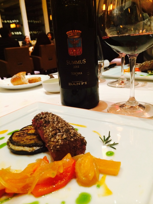 Castello Banfi Summus 2011 IGT Paired with Slow Cooked Lamb