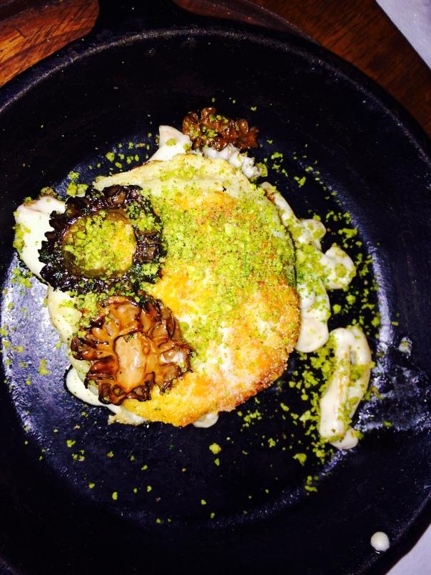 Fermented Mountain Cheese, Gucci ( Morel Mushroom), Walnut Thecha