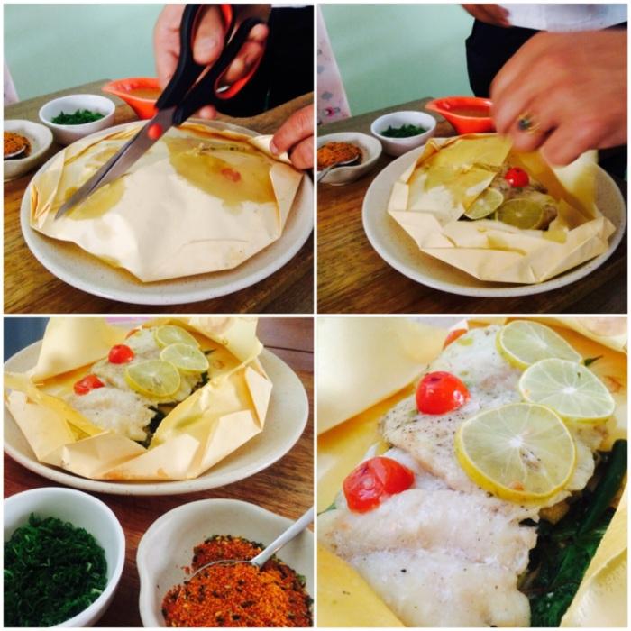 Parchment Baked Market Fish