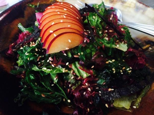 Seaweed and Mesclun Salad