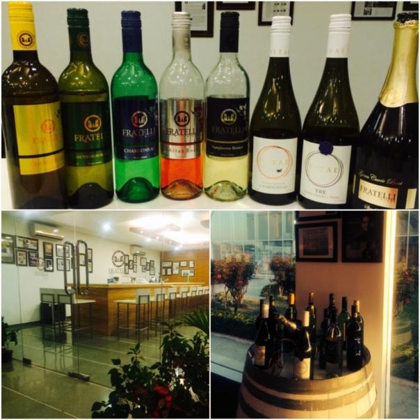 Tasting Room at Fratelli Wines