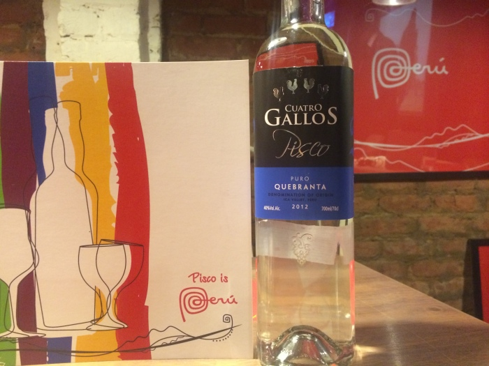 Cuatro Gallo, Puro Quebranta Pisco recently launched in India