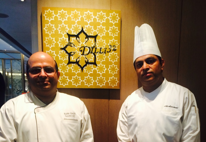 Executive Chef Rohit Tokhi & Chef de Cuisine Ashwani Kumar