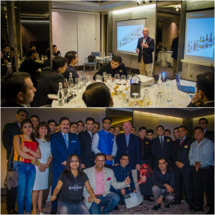 Wine Masterclass by Bill Hardy at ITC Maurya : Pic courtesy Sula Selections