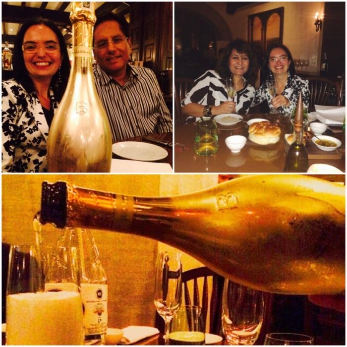 With Rohit Mehra owner of Mohan Bros & Katia Bonaguro Export Manager of Bottega SpA at La Piazza Hyatt Delhi