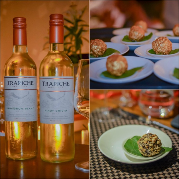 Trapiche Wine dinner at Tres at Lodi Colony Market