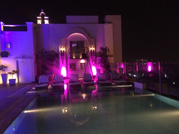 View of the pool at Vibe The Sky Bar