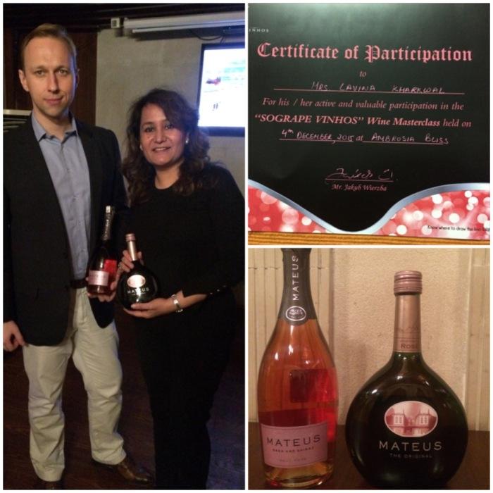 Wine Masterclass by Jakub Wierzba of Sogrape Vinhos organised by Aspri Spirits at Ambrosia Bliss Connaught Place