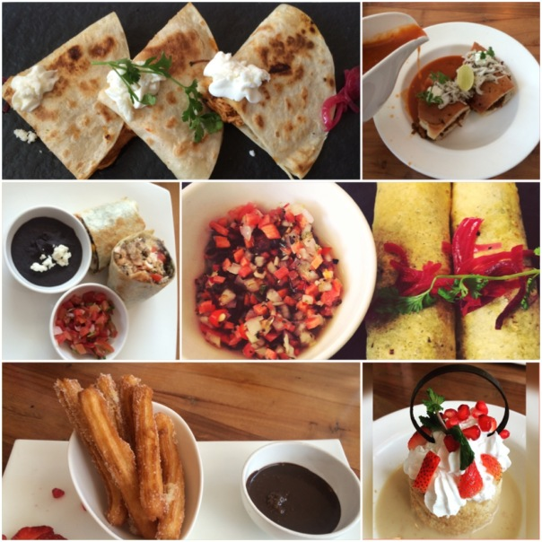 Some of the dishes I tried out during DineFest at La Bodega, Khan Market