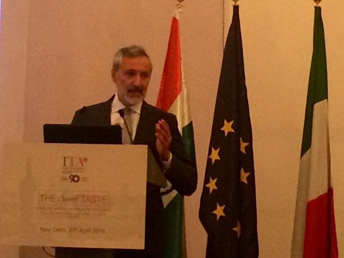 H.E Lorenzo Angeloni, Italian Ambassador of Italy to India