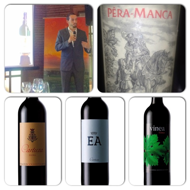Bruno Ramos from Cartuxa Winery talking about his classic wines including the iconic Pera Manca
