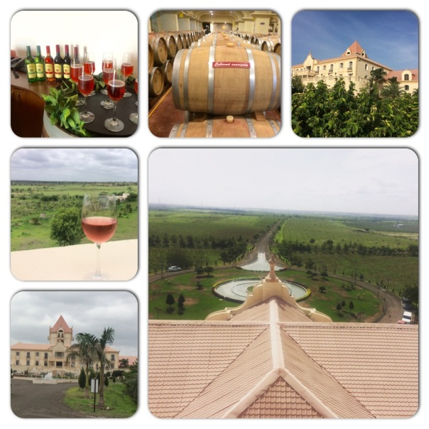 Four Seasons Winery at Roti Village Baramati Maharashtra, just an hour and a half drive from Pune