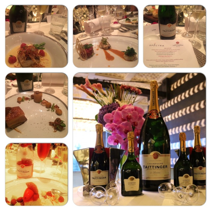Champagne Taittinger Dinner at Spectra PDR hosted by Michel Koopman, General Manager The Leela Ambience Gurgaon