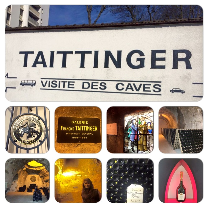 My visit to Taittinger Champagne House in Reims, France during IWINETC La Champagne 2015