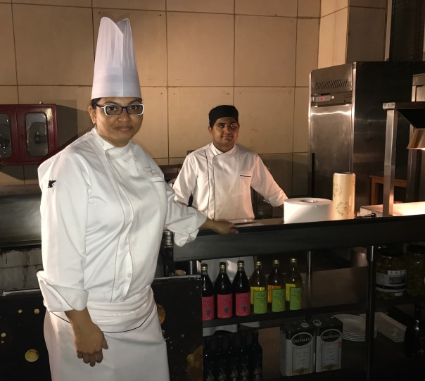 Chef Ishika Konar, Executive Sous Chef, JW Marriott New Delhi Aerocity. She specialises in Mediterranean, German, & Mexican Cuisine and her forte is western hot kitchen & garde manger.