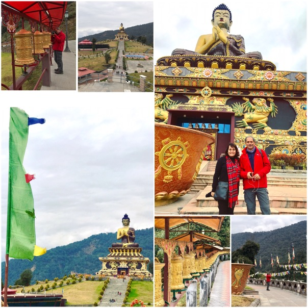 Buddha Park at Ravangla, a small tourist town situated at an elevation of 7000ft in South Sikkim. It lies between Pelling and Gangtok (65 kms from Gangtok)
