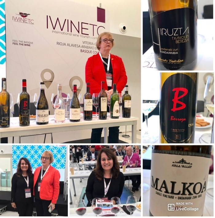 "Masterclass ""Wines of the Basque Country"" by Sarah Jane Evans MW during IWINETC 2019"