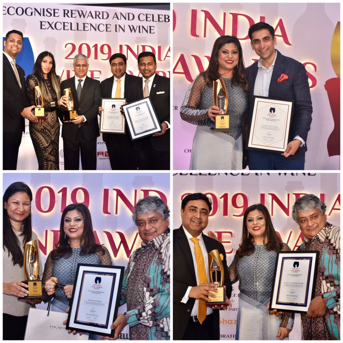 "IWA 2019 Winners of ""Excellence in Restaurant Wine Program"""