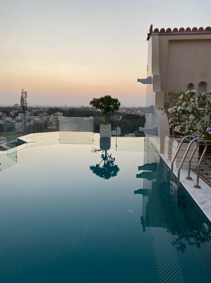 Infinity Pool at Narendra Bhawan